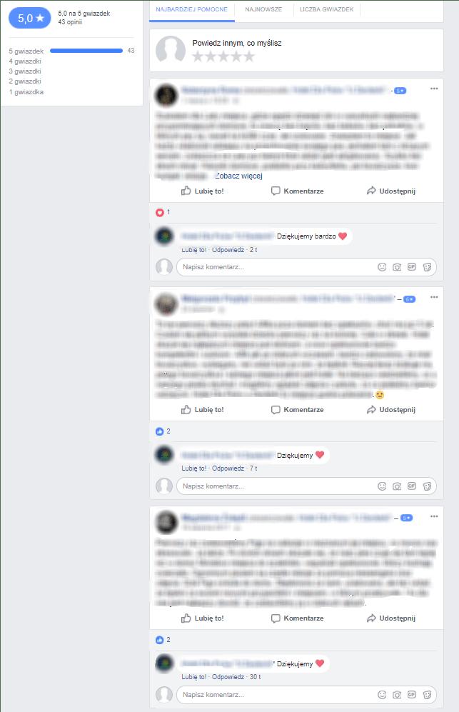 Rekomendacje facebook